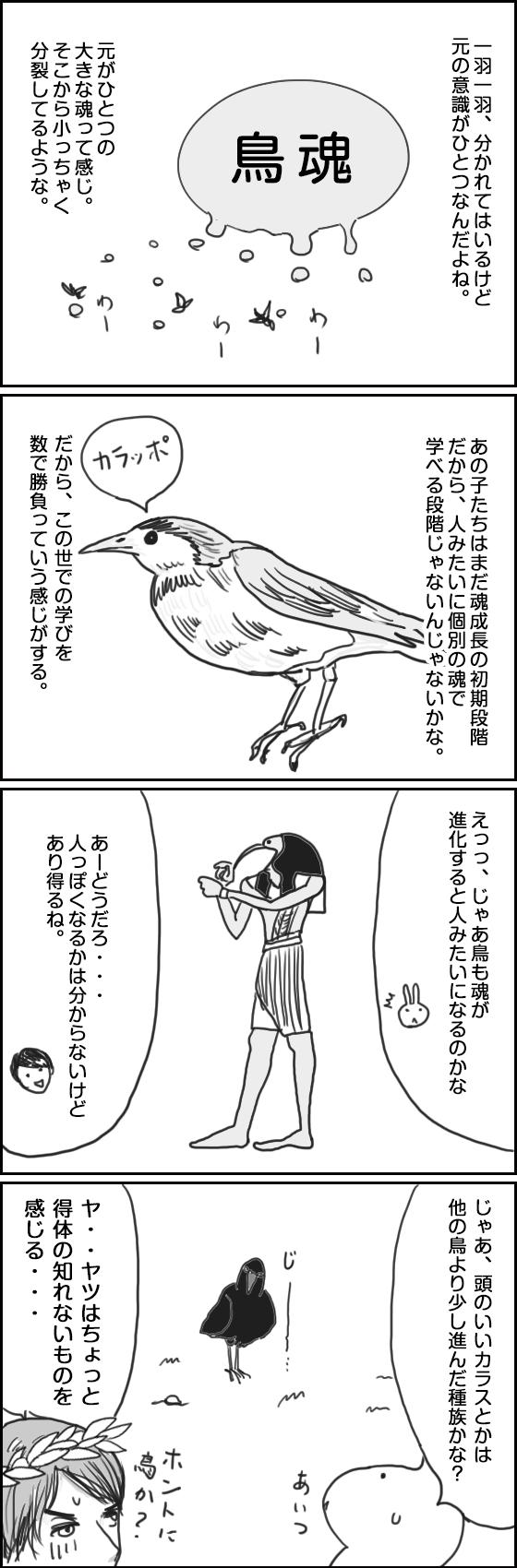 鳥にも魂ってあるのかな?(2)